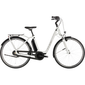 Cube Town Hybrid Pro 500 E-City Bike Easy Entry white